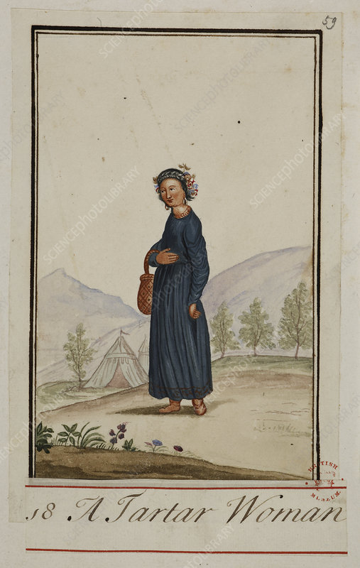 A Tartar woman