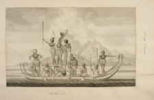 Captain Cook's first voyage of exploratio