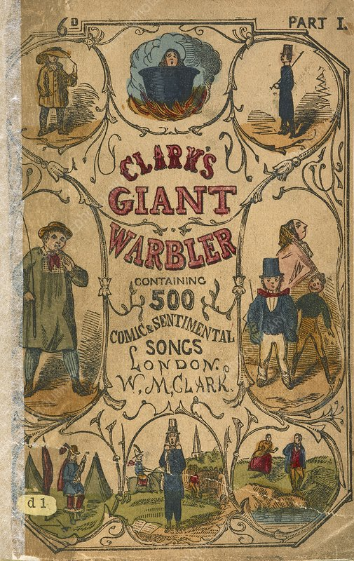 Cover of a song book