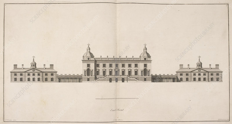 Front elevation of Houghton Hall, Norfolk