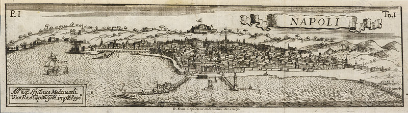 An ancient illustration of Naples