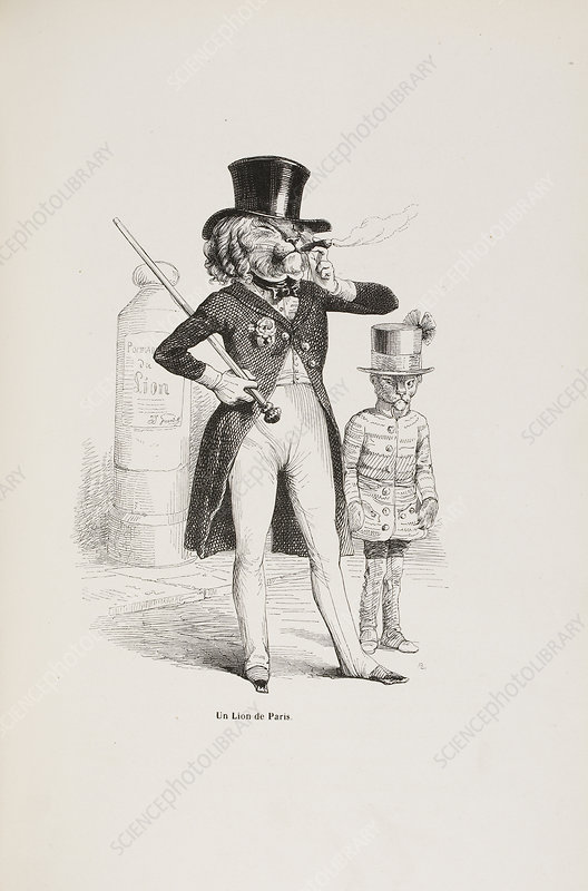 French caricature