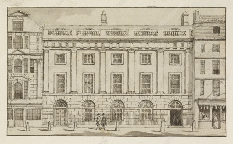 East India House in the city of London