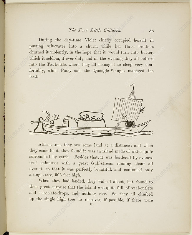 A Book of Nonsense by Lear