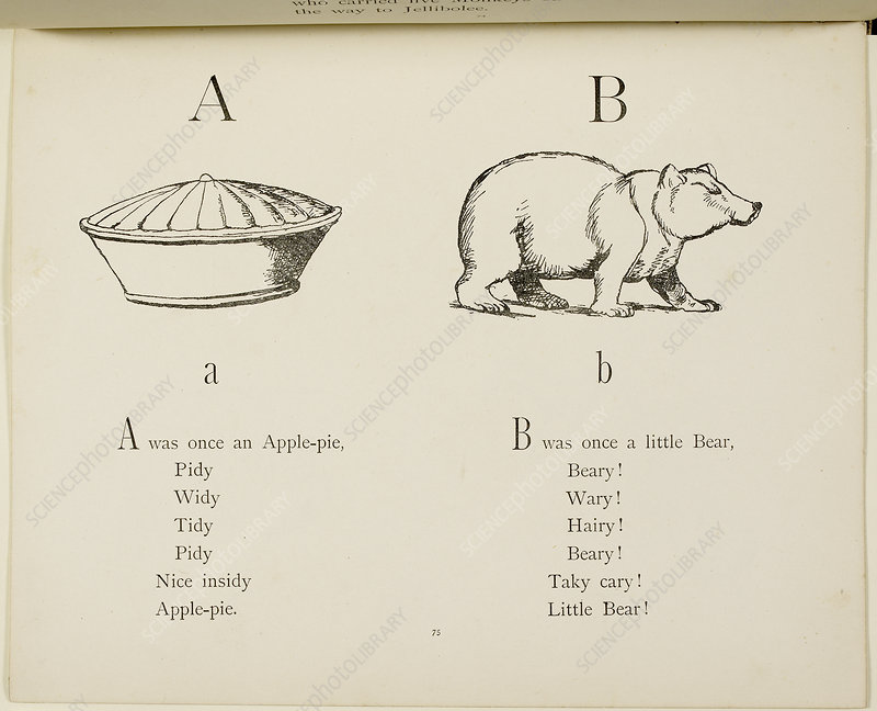 Nonsense Alphabets by Edward Lear