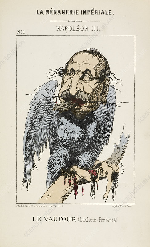 French Caricature - Le Vautour