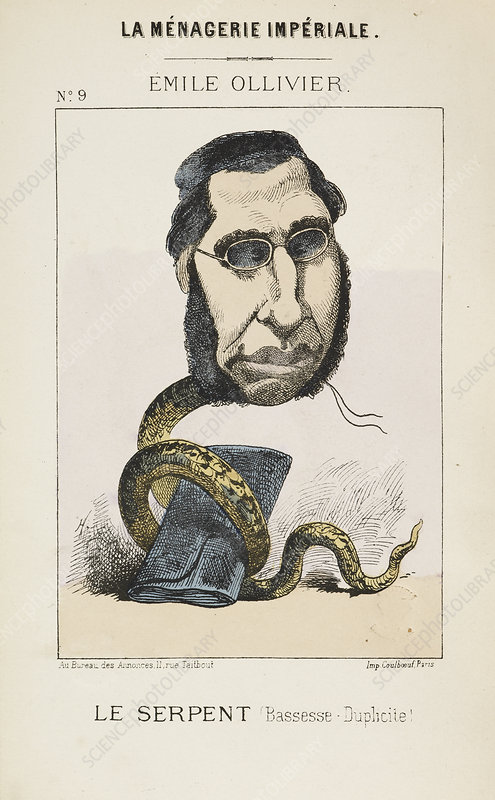 French Caricature - Le Serpent