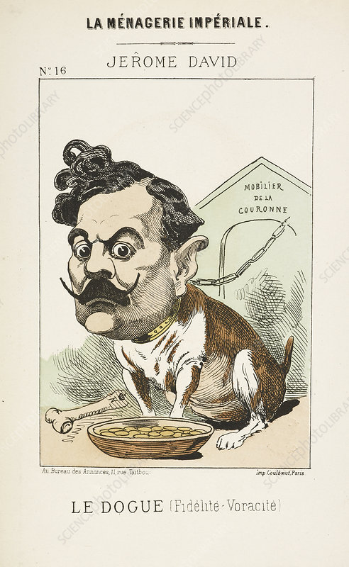 French Caricature - Le Dougue