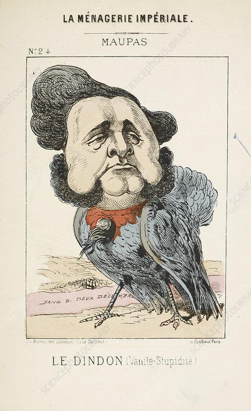 French Caricature - Le Dindon