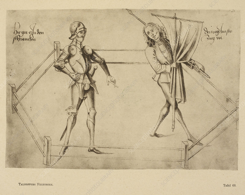 Talhoffer's fencing book.