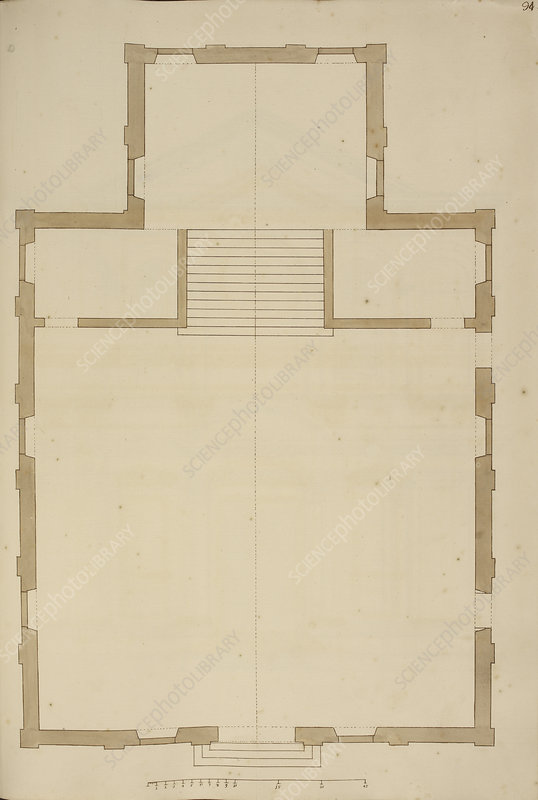Venice building floor plan