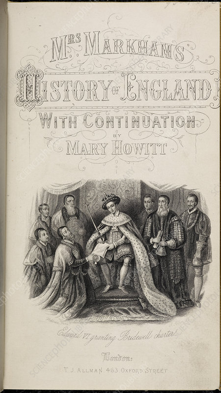 Edward VI Granting Charter to Hospitals