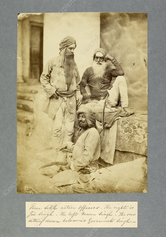 Sikh native officers