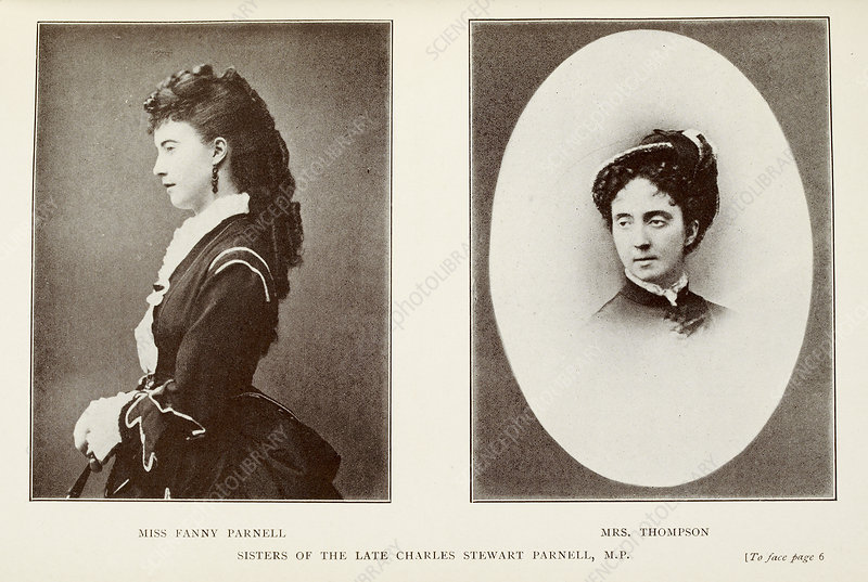 Miss Fanny Parnell and Mrs. Thompson