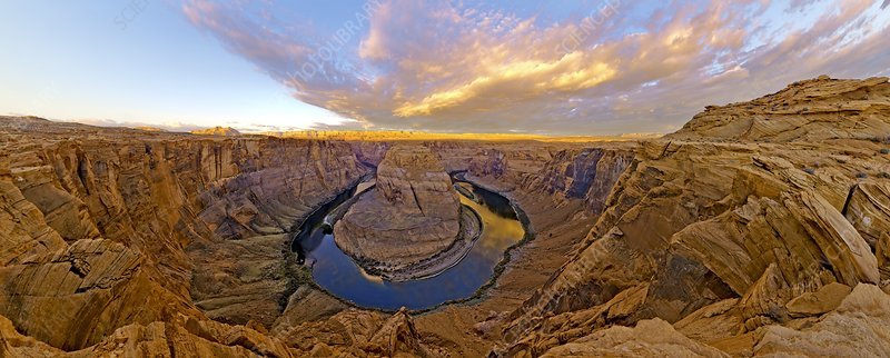 Horseshoe bend, Glen Canyon, Arizona, USA