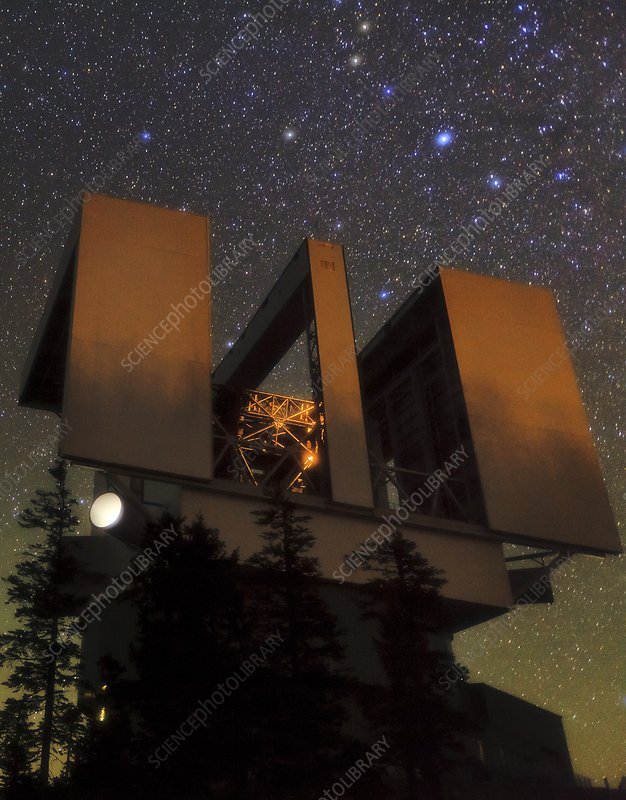 Large Binocular Telescope, Arizona, USA