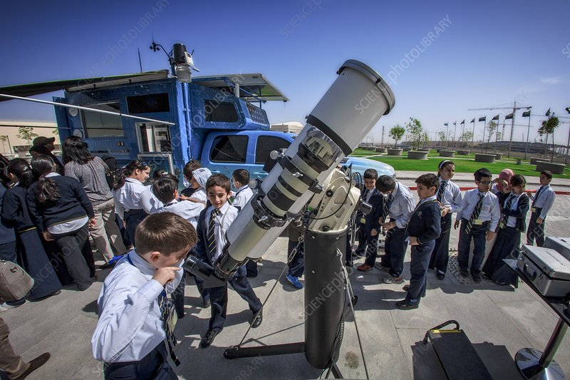 School sun observation program