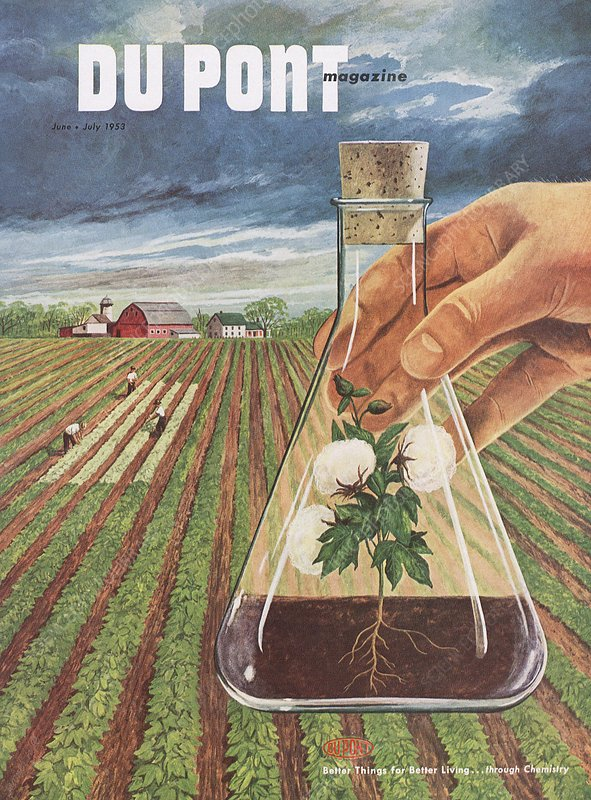 DuPont and agricultural research, 1953