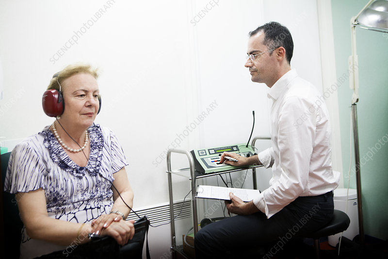 Audiometry, Elderly Person
