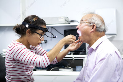 Ear Nose and Throat, Elderly Person