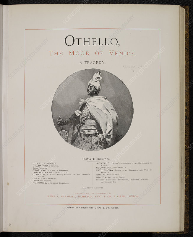 Critique on othello the moor of venice english literature essay