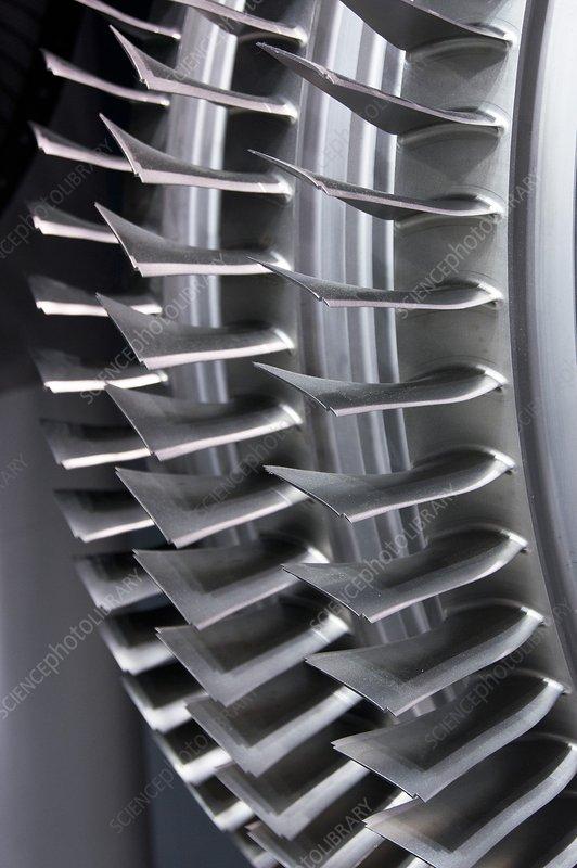 Compressed Air Blades : Compressor blades stock image c  science photo