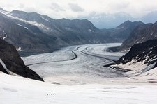 Great Aletsch Glacier, Swiss Alps