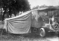 Operating ambulance, World War I