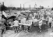 German field bakery, World War I