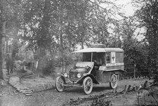 Ford Model T ambulance, World War I