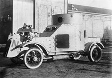 Armoured car, World War I