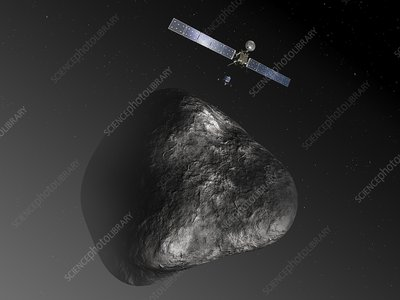 Rosetta spacecraft, artwork
