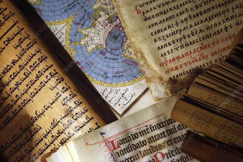 Ancient manuscripts