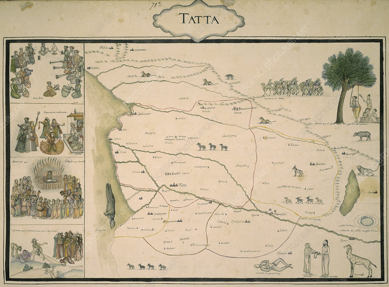 Map of Tatta