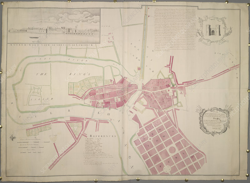 Plan of Limerick