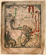 Anglo-Saxon world map, 11th Century