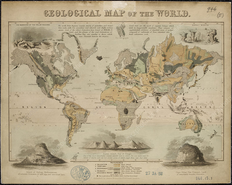 Geological Map of the World