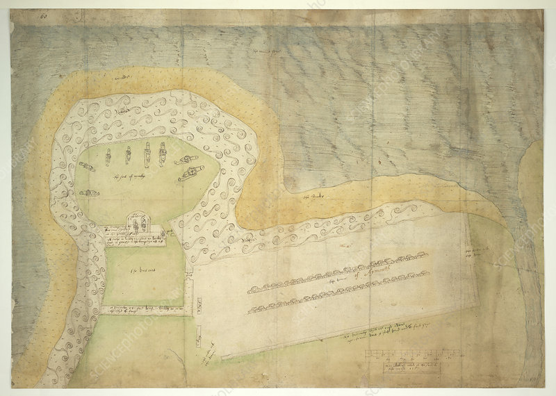 Plan of Fort Point, Eyemouth