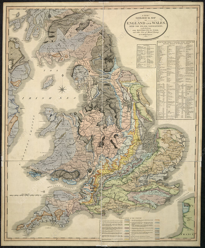 New Geological map