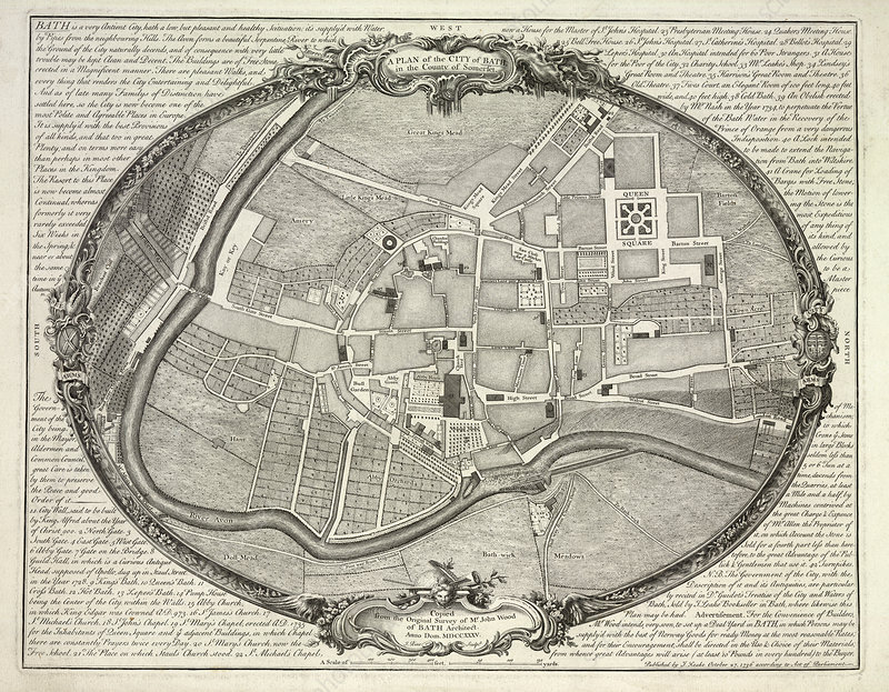 A Plan of the City of Bath