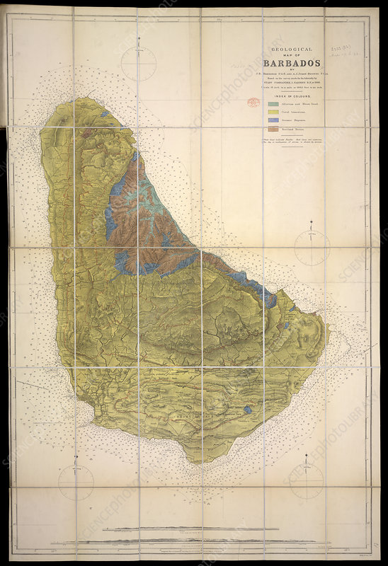 Geological Map of Barbados