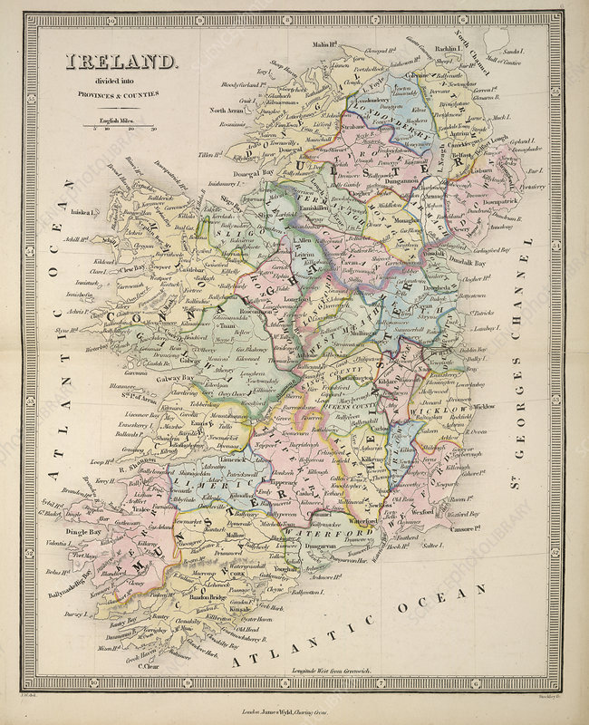 An Atlas of Modern Geography: Ireland