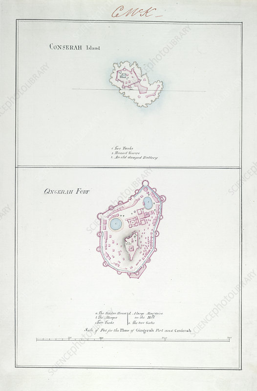 Conserah Island and Gingerah Fort