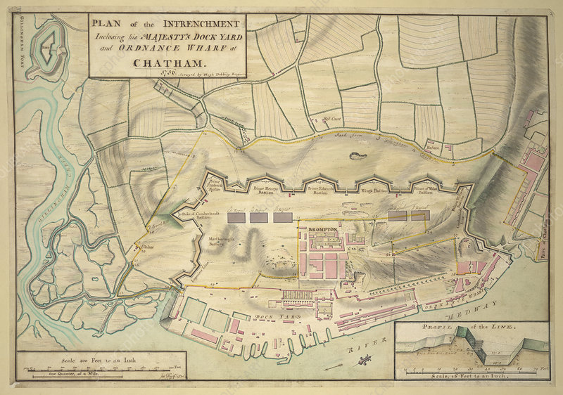 A plan of Chatham