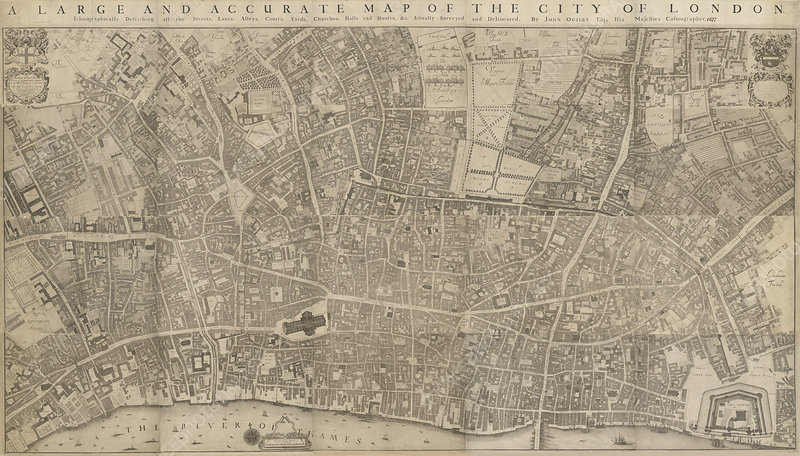 A map of the City of London
