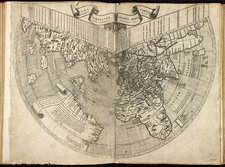 Map of the world, published in 1507