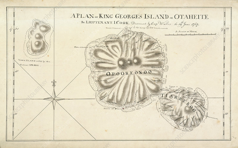 A Plan of King Georges Island on Otaheite