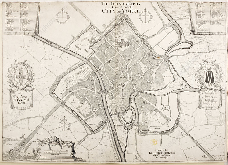 City of York, 1694