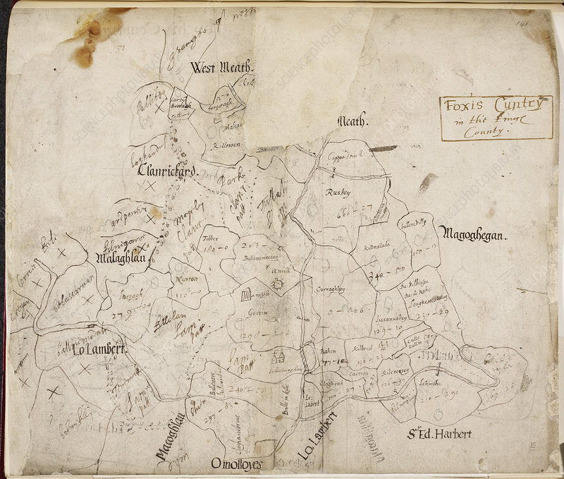 A map of 'Foxis cuntry'