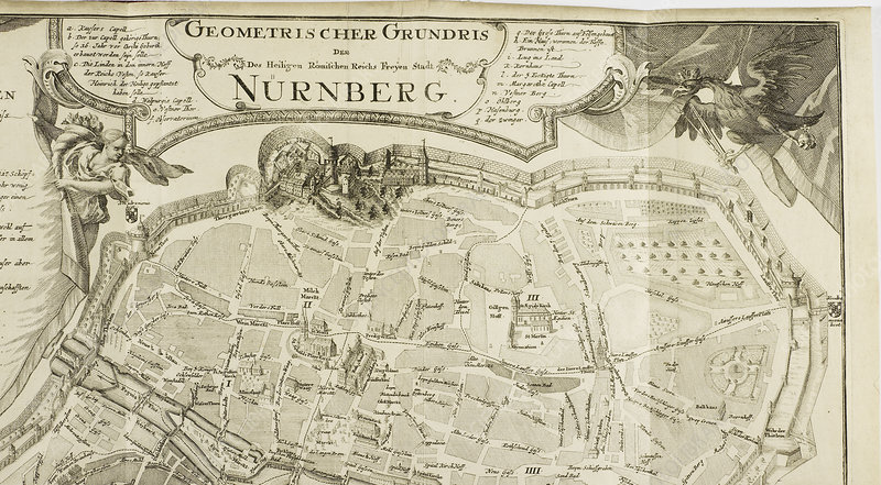 Map of Nurnberg